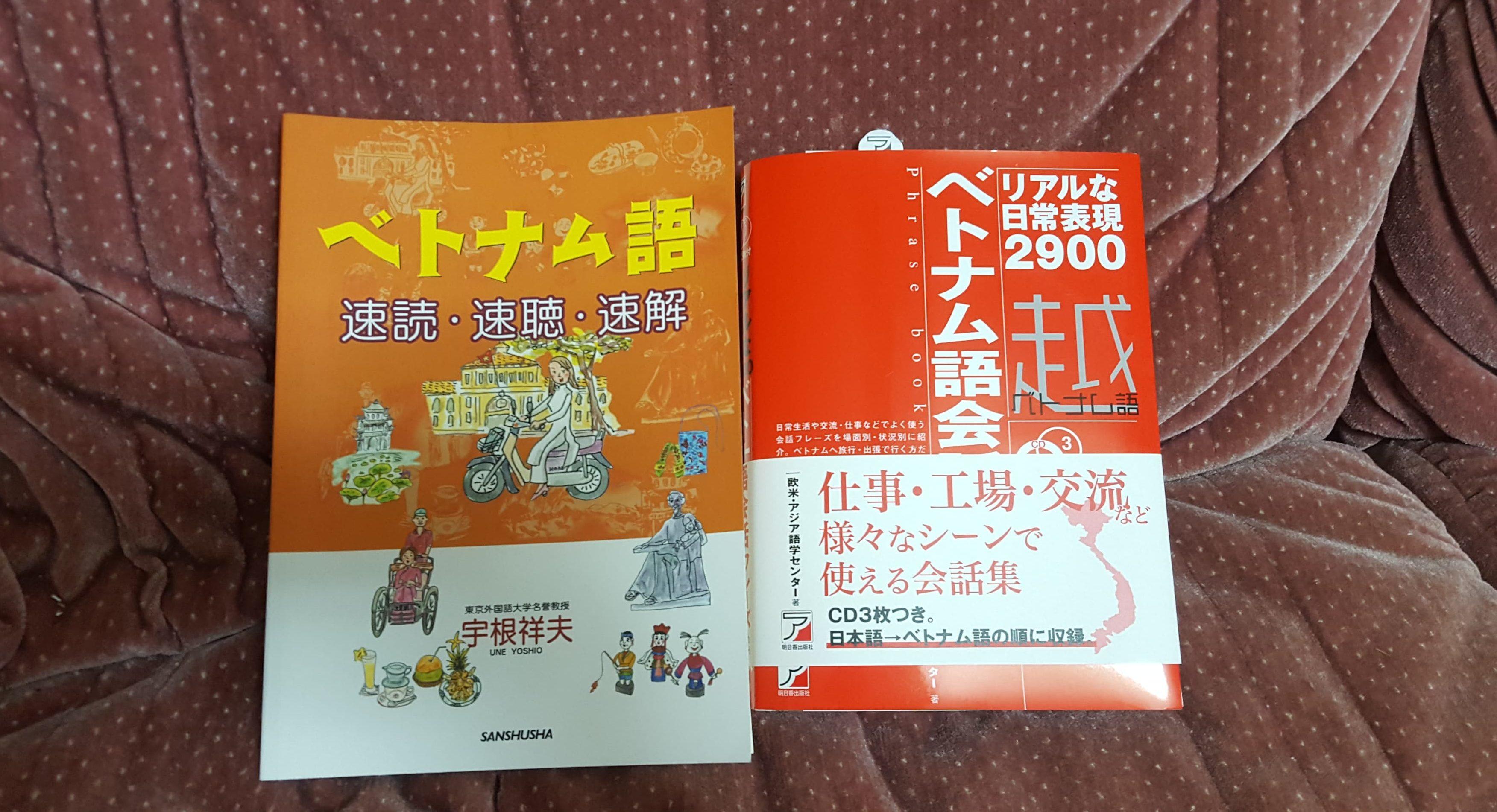 僕が日本国内でベトナム語を勉強した方法や使用した教材について紹介